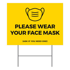 Yellow Face Mask