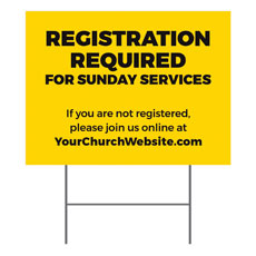 Yellow Registration Required