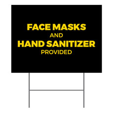 Jet Black Masks Sanitizer