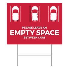 Red Empty Space