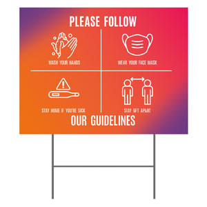 Easter Together Hues Guidelines YardSigns