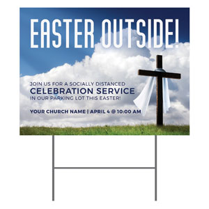 Easter Outside YardSigns
